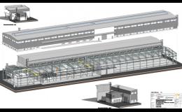 Dodávky průmyslových a technologických staveb