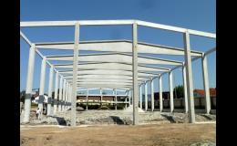Průmyslové haly - jednoduchá a rychlá stavba