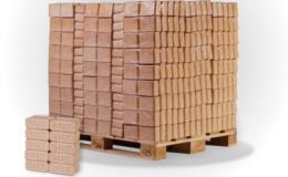 Dřevěné brikety RUF BUK