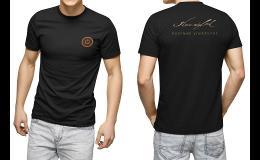 Oblečení s potiskem, logem firmy
