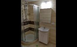 Rekonstrukce koupelen a realizace nových koupelen Znojmo, Hrušovany nad Jevišovkou