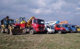 Autodoprava a zemní práce