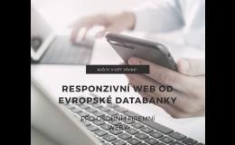 Nechte si vyrobit responzivní web od Evropské databanky