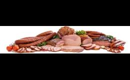 Řeznictví a uzenářství - maso, uzeniny, tepelně opracované i neopracované masné výrobky