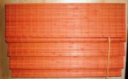 Vkusné bambusové rolety