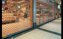 Rolovací mříže - Zlínský kraj