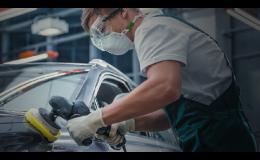 renovace auto laku - bezpečné rozleštění laku