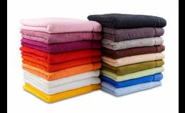 Ručníky, osušky - vybavení pro koupelny