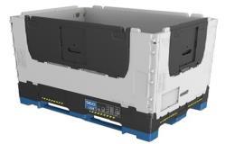 Výroba skládacích i pevných paletových kontejnerů