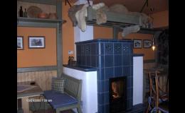 stylový interiér v Selské krčmě Otrokovice