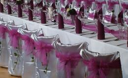 Svatební tabule pro hosty