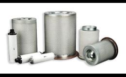 Separátory, odlučovače oleje vzduch / olej, voda / olej