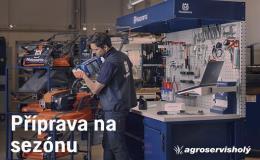 Opravy a servis zahradní, lesní techniky Husquarna Moravský Krumlov, Znojmo