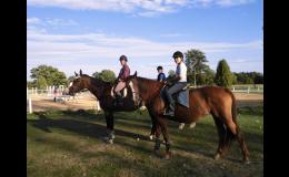 Rekreační ježdění na koni Nebanice