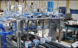 Dodávka strojů pro potravinářský průmysl