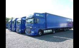 Spediční a přepravní služby v mezinárodní nákladní dopravě