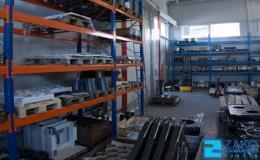 Sklad materiálu, polovaru, výrobků