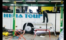 Autoskla pro autobusy