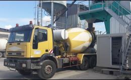 Kontejnerová doprava, betonárna Kolín