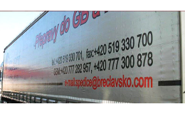Logistika a přeprava zásilek Břeclav