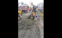 Rekonstrukce kanalizace a vodovody Ostrava