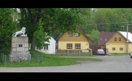 Obec Srby náves