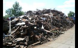 Výkup a zpracování šrotu a kovového odpadu