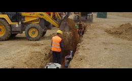 Stavební činnost - vodohospodářské stavby