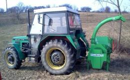 Štěpkovače za traktor