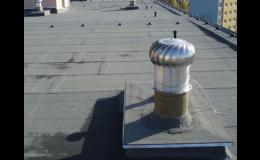 Izolace a zateplení střech