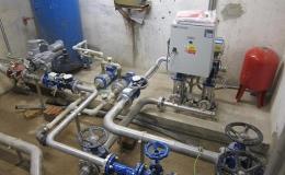 Kompletace skupinového vodovodu