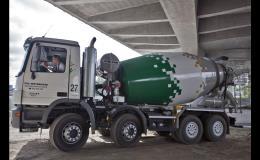 Betonárna, betonárka - betonové směsi, betony, výroba betonu, doprava
