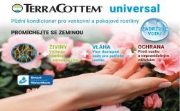 Distribuce, prodej půdního kondicionéru TerraCottem - výživa pro růst rostlin