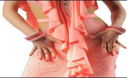 Výroba tréninkové společenské taneční šaty a oblečení Praha