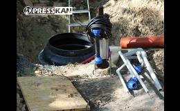 Tlaková kanalizace pro firmy, obce a města, rodinné domy Prostějov