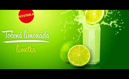 výroba točená limonáda Vysočina - limetka - novinka