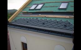 Izolace střech a montáž střešních oken
