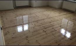 Renovace a leštění zašlých podlah