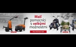 Nabídka paletových vozíků a řešení