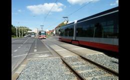 Přejezdové konstrukce pro tramvajové tratě