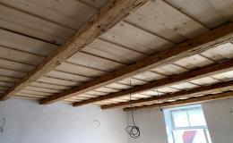 Pískování a tryskání dřeva, dřevěných stropů - mobilní tryskací jednotka