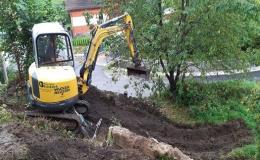Terénní úpravy, rovnání terénu Znojmo, Moravský Krumlov