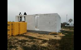 Výstavba rodinných domů - zednické, klempířské, pokrývačské, obkladačské, sádrokartonářské práce Ivančice