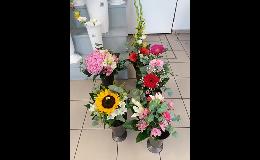 Luxusní, dárkové květinové vazby - kvetinářství