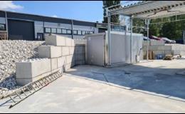Betonové bloky s rychlou výstavbou
