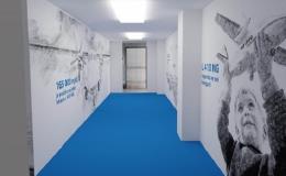 Zpracování velkoformátového tisku  - tapety, polepy výloh, prodejen, podlah Břeclav, Hodonín
