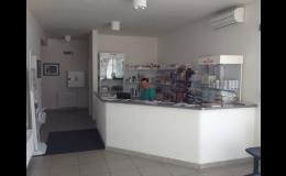 Přijímací recepce - Veterinární ordinace Mlejnský