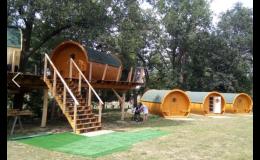 Netradiční Viking houses