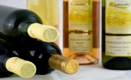Objednejte si firemní lahvová vína a víno jako dárkový předmět s logem a názvem firmy ve Vinařství V & M Zborovský