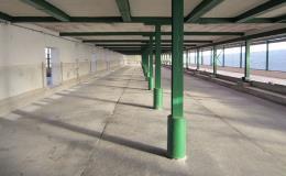 Nové lité podlahy ve skladech a halách